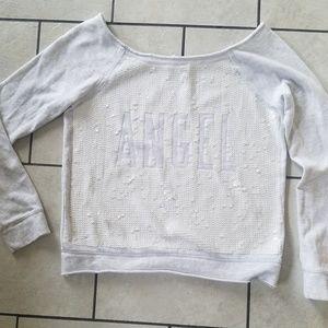 Victoria's Secret sweatshirt/ XS-TP